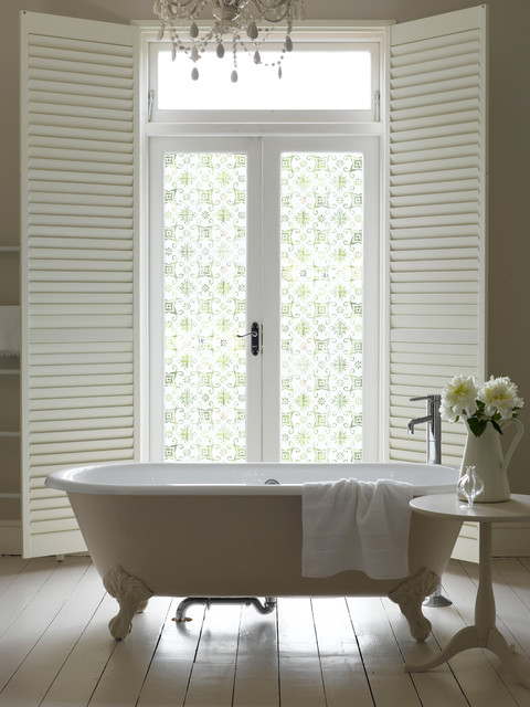 Frosted Window Film Bathroom Traditional with Decor Design Diy Frosted