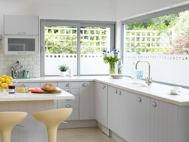 Frosted Window Film Kitchen Transitional with Decor Design Diy Frosted