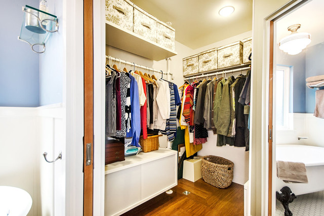 Furnitures Stores Closet Traditional with Ceiling Lighting Corner Closet