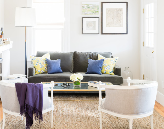 Futon Loveseat Spaces Transitional with Apartment Boston Contemporary Living
