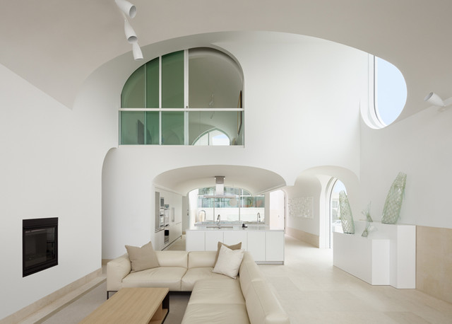 Futon Mattress Sizes Kitchen Eclectic with Arched Ceiling Arched Doorways