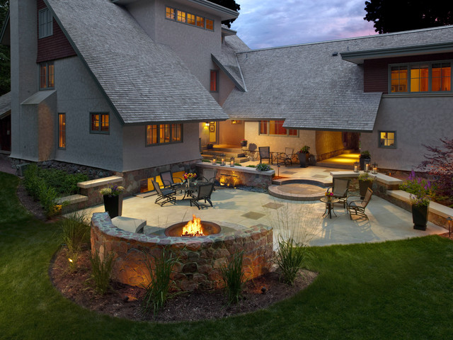 Fx Luminaire Patio Craftsman with Curb Appeal Garden Ideas