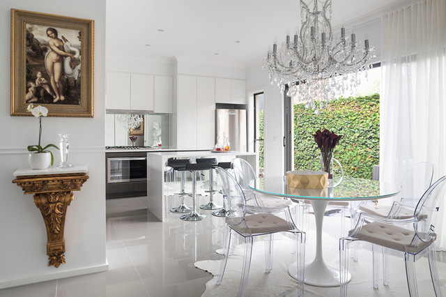 Ghost Chair Ikea Dining Room Contemporary with Accessories Bb Italia Bespoke