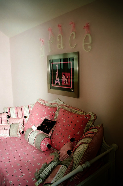 Girls Daybed Bedroom Shabby Chic with Bedding Curtians Daybeds Draperies