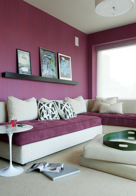 Girls Daybed Kids Contemporary with Art Arrangement Color Contemporary