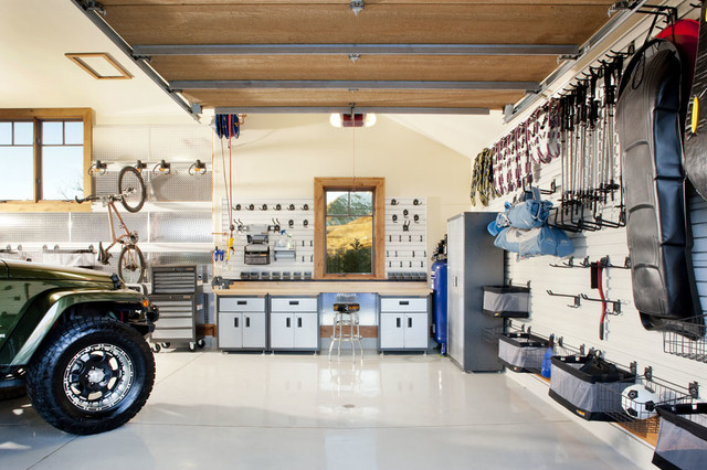 Gladiator Cabinets Garage and Shed Contemporary with Sports Equipment Storage Tools