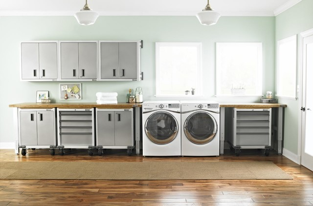 Gladiator Garageworks Laundry Room Modern with Categorylaundry Roomstylemodernlocationother Metro