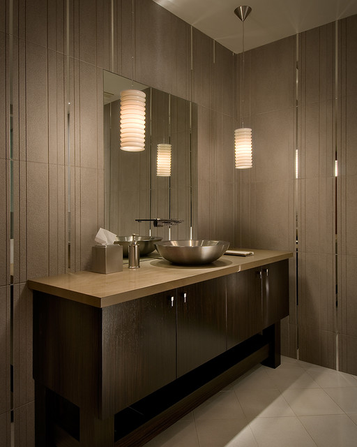 Graff Faucets Bathroom Contemporary with Bathroom Storage Dark Wood