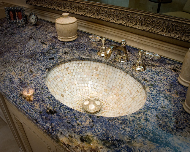 Granite Composite Sinks Bathroom Traditional with Bath Accessories Bath Fixtures