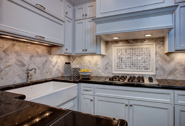 Granite Composite Sinks Kitchen Contemporary with Black Granite Chevron Farmhouse