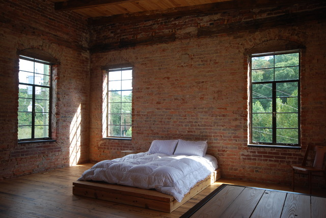 Habersham Furniture Bedroom Industrial with Adaptive Reuse Custom Fabrication