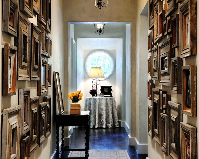 Hallway Runners Hall Traditional with Antique Frames Frame Collection