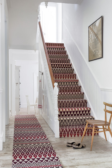 Hallway Runners Staircase Traditional with Colour Hallway Pattern Patterned