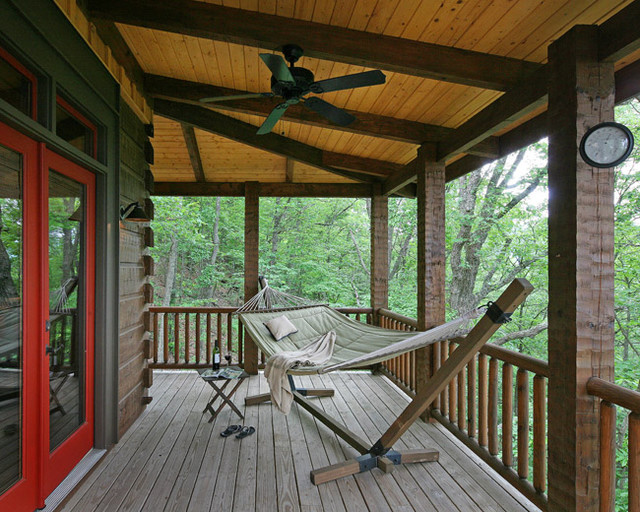 Hammock Frame Porch Traditional with Design and Turn Key Construction