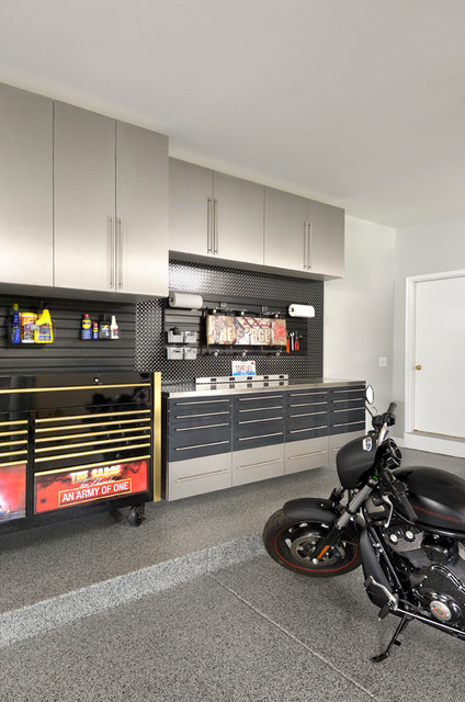 hanging mail organizer Garage And Shed Contemporary with beige cabinets built-in cabinets