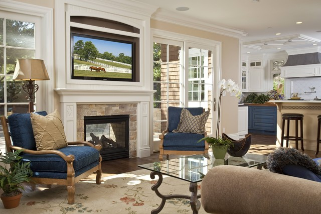 Heat N Glo Living Room Traditional with Family Room Fireplace Indooroutdoor