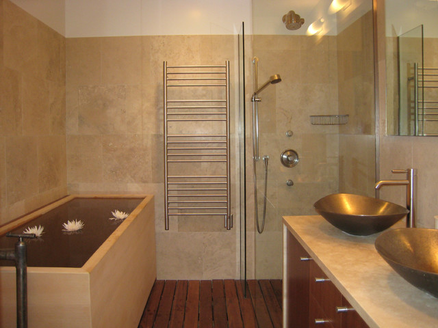 heated towel rack Bathroom Modern with bathroom bathroom mirror bowl
