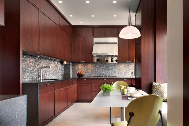 Hemisphere Furniture Kitchen Contemporary with Apartment Banquette Seating Card