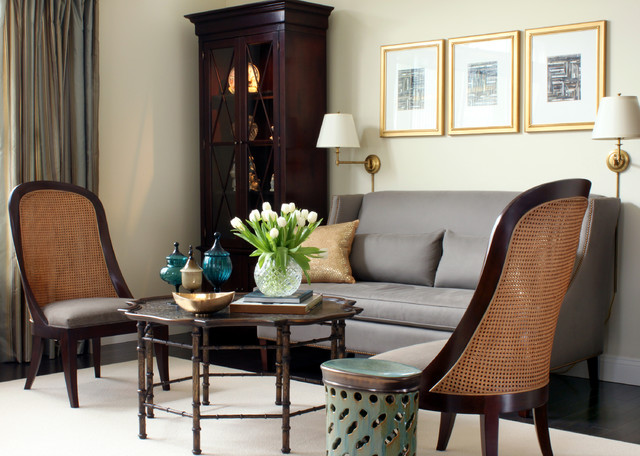 Hickory Chair Living Room Traditional with Ankasa Area Rug Baker