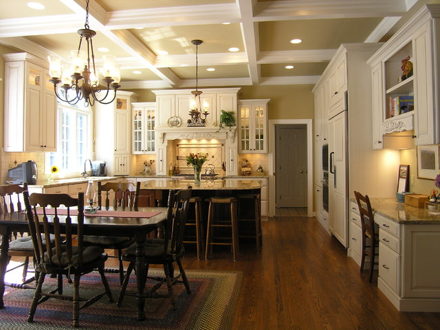 hinkley lighting Kitchen Traditional with accent ceiling area rug