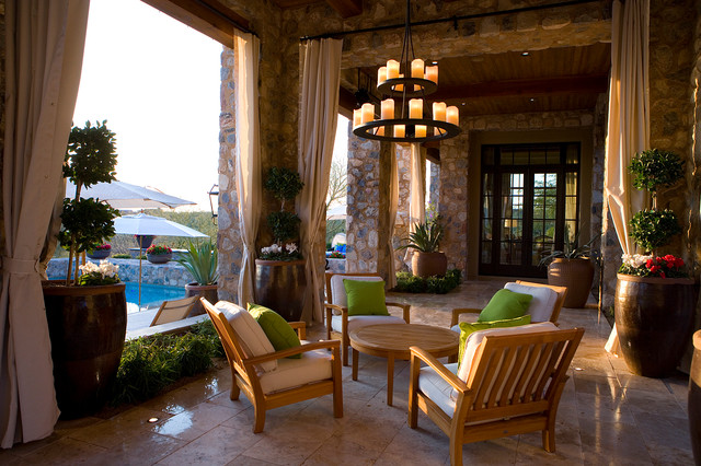 Hinkley Lighting Patio Mediterranean with Accent Pillows Architectural Elements