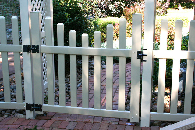 Hoover Fence Patio Traditional with Arbor Hoover Fence Co1