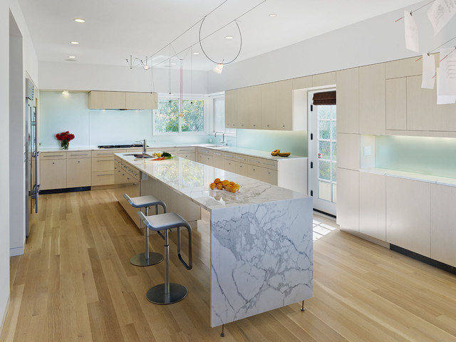 Hortons Lighting Kitchen Modern with Cabinetry Dining Table Glass