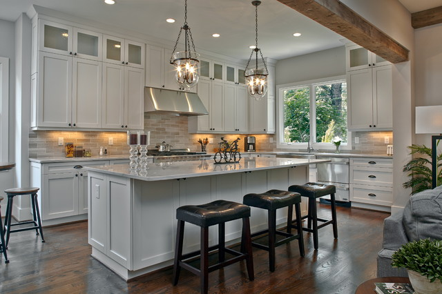 Hortons Lighting Kitchen Traditional with 48 Inch Dual 48