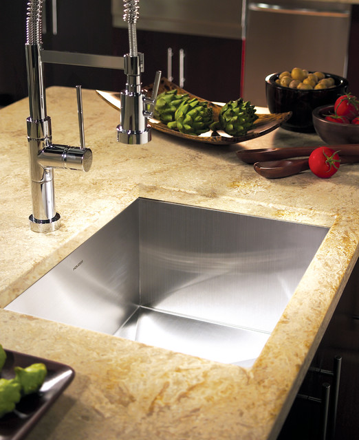 Houzer Sinks Spaces Contemporary with Contemporary Sink Ctr 1700 Houzer