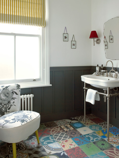How to Install Wainscoting Powder Room Victorian with Bathroom Chair Bathroom Mirror