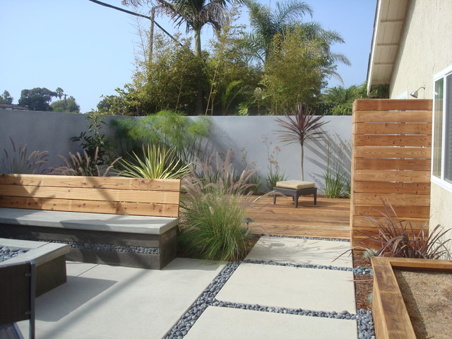 How to Seal Grout Patio Modern with Built in Bench Built in Fire