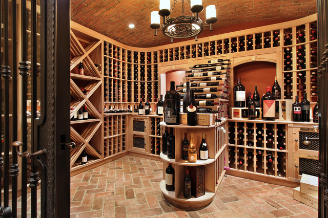 How to Whitewash Brick Wine Cellar Mediterranean with Antique Arcane Stone Antique