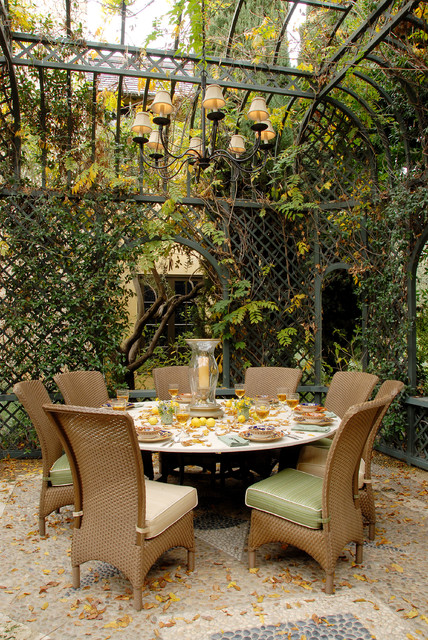 hurricane candle holders Patio Traditional with canopy dining pavilion hurricane