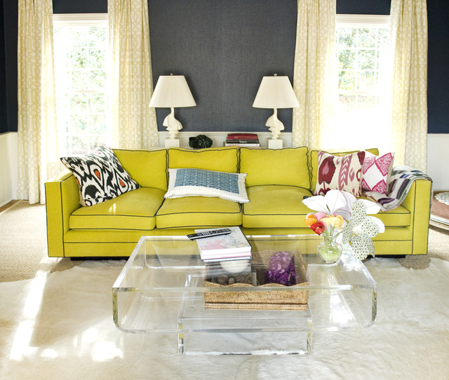Ikat Pillows Living Room Eclectic with Area Rug Bold Colors