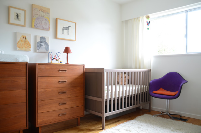Ikea Baby Cribs Nursery Midcentury with Animal Art Crib Ikea