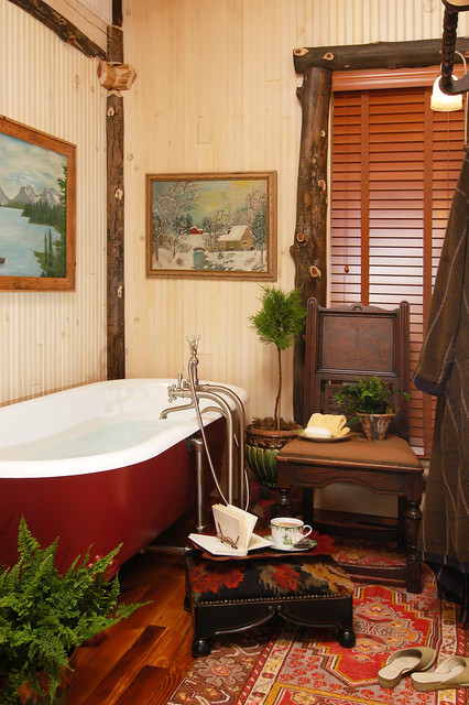 Ikea Blinds Bathroom Rustic with American Rustic Bath Tub