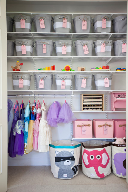 Ikea Closet Organizer Kids Transitional with Arts Crafts Baskets Bins