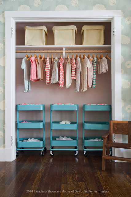 Ikea Closet Organizer Nursery Eclectic with Basket Blue Blue Green