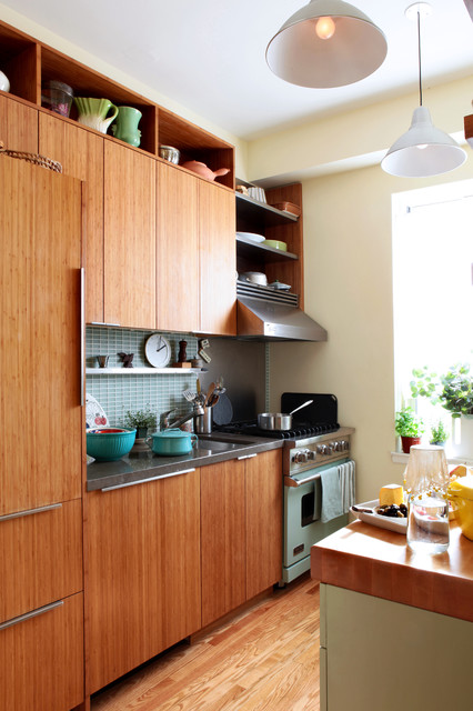 Ikea Faucets Kitchen Eclectic with Bamboo Cabinets Cabinetry Floating1
