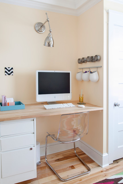 ikea file cabinet Home Office Contemporary with chevron computer computer desk