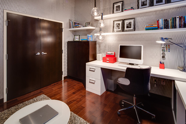Ikea Filing Cabinet Home Office Industrial with Contemporary Desk Floating Shelves
