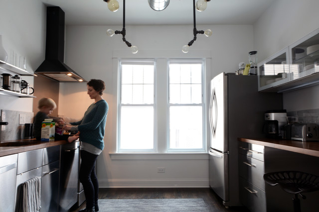 Ikea Kitchen Cabinets Reviews Kitchen Industrial with My Houzz 1