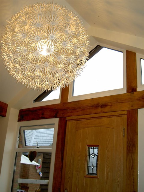 Ikea Lampshades Spaces Contemporary with Barn Conversion Home Milton