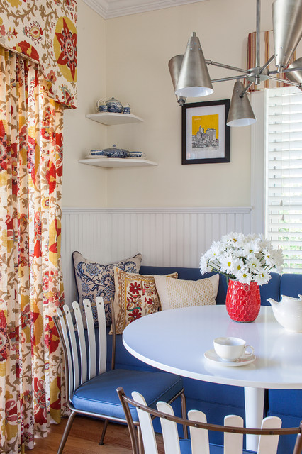 Ikea Light Fixtures Dining Room Transitional with Suzani Print Vintage Modern4