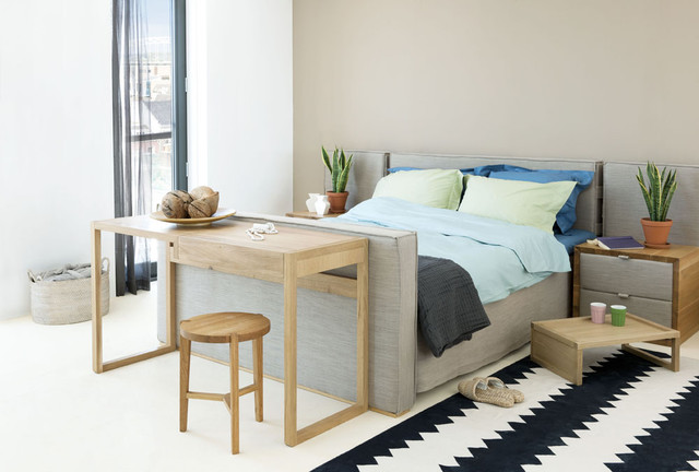 Ikea Queen Mattress Bedroom Contemporary with Accent Wall Area Rug2