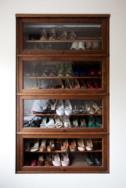 Ikea Shoe Rack Closet Modern with Built in Storage Display4