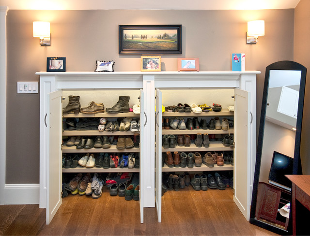 Ikea Shoe Storage Closet Traditional with Boots Bow Pulls Built In
