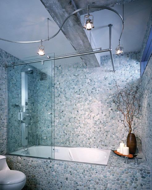 Ikea Track Lighting Bathroom Eclectic with Ambient Bathroom Lighting Contemporary