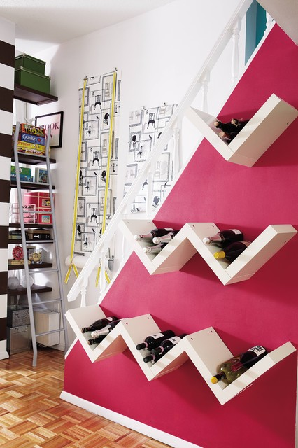 ikea wine rack Staircase Eclecticwith CategoryStaircaseStyleEclectic