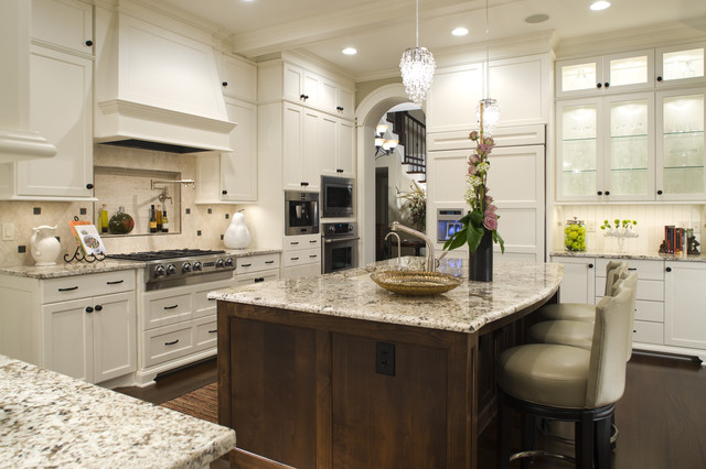 Inexpensive Chandeliers Kitchen Traditional with Beadboard Breakfast Bar Cabinet